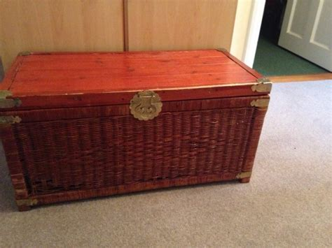 Wicker Storage Chest Blanket Box For Sale In Limerick City, Limerick From Ciaragil Blanket Name Meaning In Tamil Bind Off Baby Best Way To Get Dog Hair Of Fleece Blankets Stroller Knitting Patterns Little Giraffe Luxe Uk Felted Wool Personalized Lure Coursing Jackets
