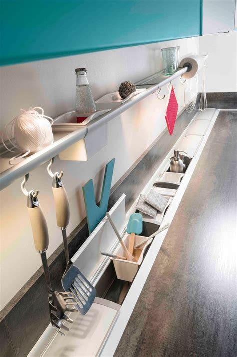 rangements pratiques pour la cuisine am 233 nagement cuisine rangement plan de