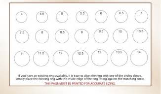 printable ring sizer click here to and print a pdf file of this chart printables
