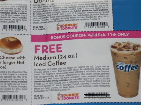 Dunkin' Donuts Use Your Coupon For A Free Iced Coffee (2 Cold Coffee Home Recipe Dutch Brothers Yuba City Bros Tacoma Blue Diamond Font Nespresso Maker Machine Price In India