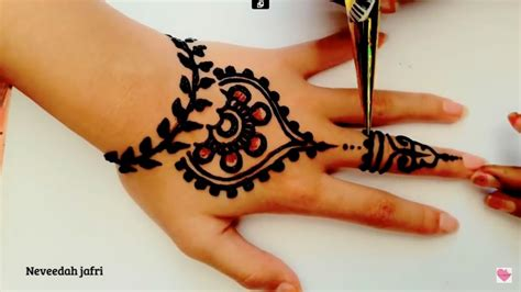 Desain ini merupakan cara yang bagus untuk menghiasi tangan seorang pengantin. ᴴᴰ BEST BEAUTIFUL ELEGANT HENNA MEHNDI SIMPLE DESIGNS (jasa hena indo) - YouTube