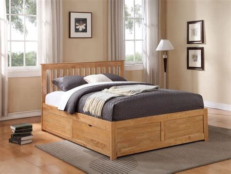 Beds With Drawers by Storage Beds Flintshire Furniture Pentre Wooden Bed With
