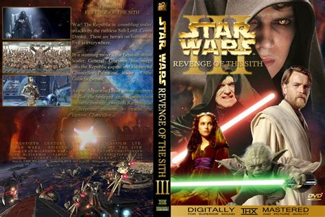 Star Wars Episode Iii Revenge Of The Sith Dvd Cover General