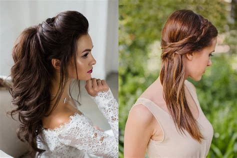 flamboyant hairstyles  gown  adorn