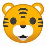 Tiger Icon Tigre Face Emoji Animals Emoticon