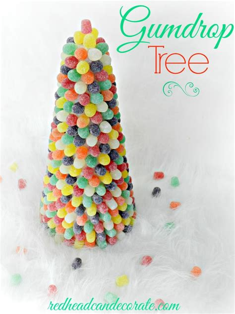diy gumdrop tree redhead can decorate