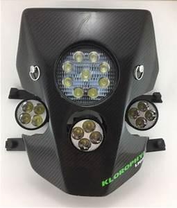 Eclairage Plaque Moto : plaque phare enduro led klorophyl k2 eclairage moto xenon ~ Melissatoandfro.com Idées de Décoration