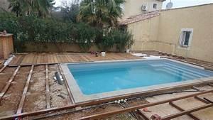 Bois Pour Terrasse Piscine : lambourdes en bois exotiques pour terrasse et contour de ~ Edinachiropracticcenter.com Idées de Décoration