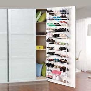 Closet Door Shoe Organizer by The Door Shoe Rack Organizer 36 Pair Wall Hanging