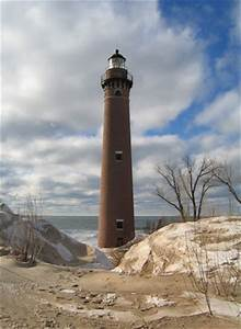 Little Point Lighthouse Michigan At