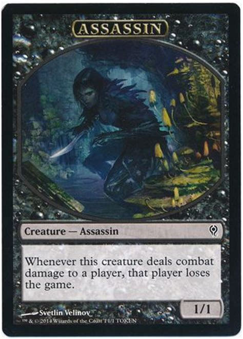 Mtg Assassin Deck List assassin token duel deck jace vs vraska duel deck jace
