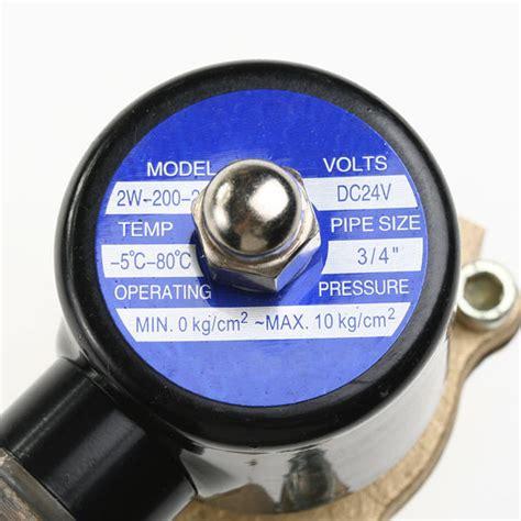 electrovanne gaz cuisine electrovanne arrosage magnetique 24v 3 4 gaz solénoïde