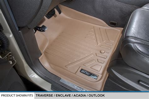 All Weather Floor Mats Set And Cargo Liner For Chevy Suv