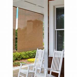 Indoor Outdoor Bamboo Reed Blinds Roll Up Sun Shade Patio Porch Window 36 U0026quot  X 72 709153211676