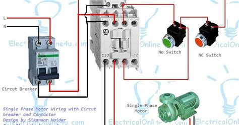 Ge 4 Pole Contactor Diagram by Three Pole Contactor Wiring Diagram For Getting Started