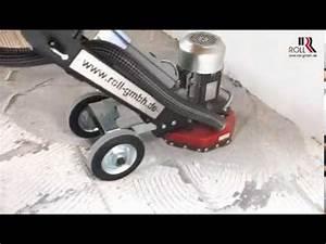 Fliesenkleber Entfernen Maschine : fliesenkleber vom untergrund entfernen youtube ~ Michelbontemps.com Haus und Dekorationen