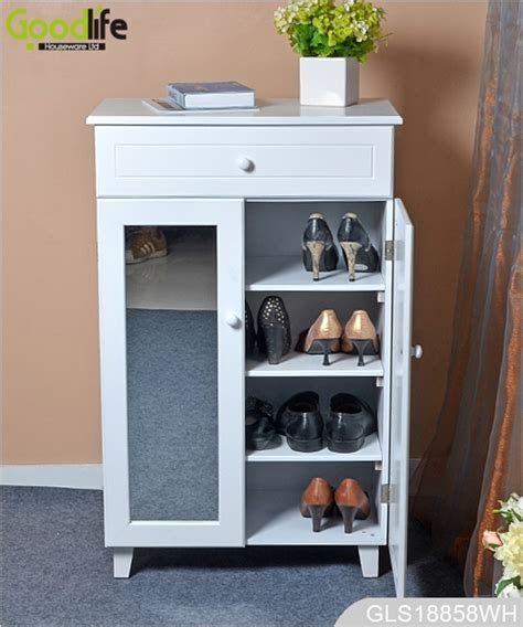 Solid Wood Furniture Amazon Style Wooden Shoe Storage