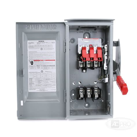 3 Phase Fused Disconnect Switch