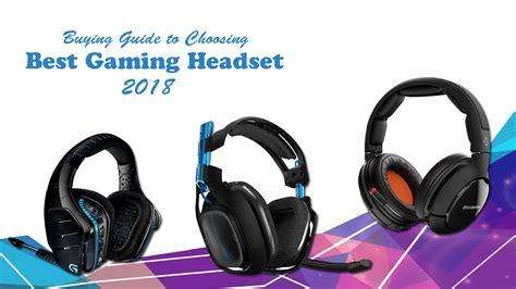 Best Gaming Headset 2018 Techsviewer