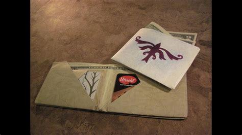 tyvek origami ultimate wallet youtube