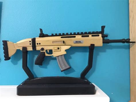 fortnite scar replica full size prop machine gun game life