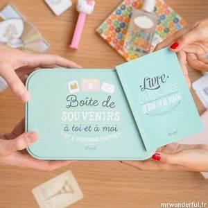 Cadeau Pour 1 An De Couple : kit bo te livre de souvenirs pour couple fr will you be my valentine pinterest ~ Melissatoandfro.com Idées de Décoration