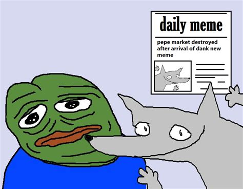 Pepe Know Your Memes - pepe feeling replaced wofl know your meme