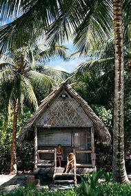 Beach Hut Tropical Island
