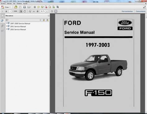 auto manual repair 1996 ford f150 regenerative braking ford f150 service manual