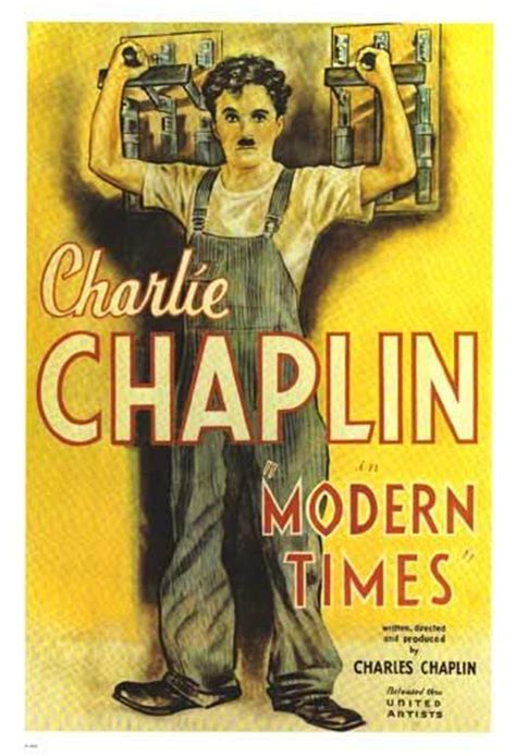 chaplin in review part vi modern times notesonafilm