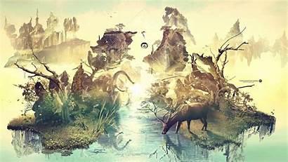 Yoga Digital Animals Desktop Elephants Backgrounds Wallpapers