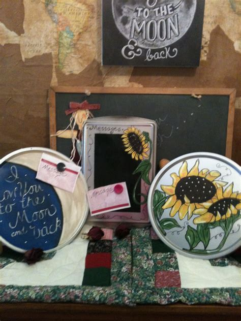 pans baking dollar centers crafty stores painted message