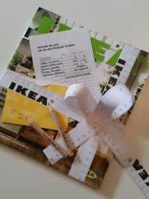 hochzeitsgeschenke selber gestalten ikea gutschein geschenkverpackung mit kostenlosen zubehör ikea selbstgestaltet