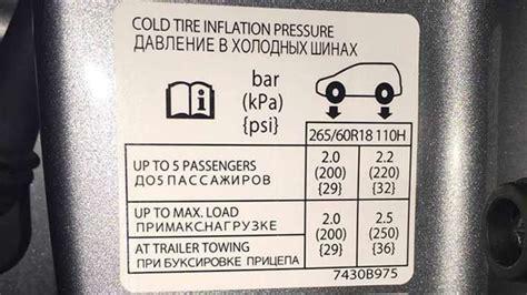 mitsubishi pajero tyre pressure carsguide