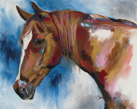 Tennessee Walker 16x20 Acrylic Representational Style