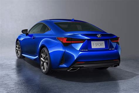 2019 Lexus Rc Coupe Will Debut At 2018 Paris Motor Show
