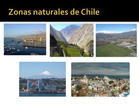 Zonas naturales de chile (5 basico)
