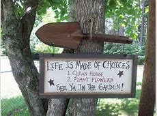 Gardening Signs Fans of the Gardening Cook Share The