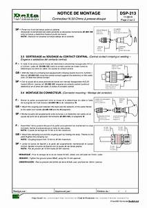 Connector Installation Instructions