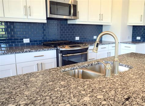 blue tile backsplash kitchen blue glass tile kitchen backsplash glass mosaic tile