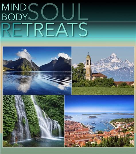 During your time at the retreat, you can experience the science of ancient wisdom and energy flow. Retreats - Mind Body Soul Retreats