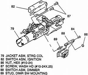 1993 Chevy C1500 Steering Column Diagram : repair guides steering ignition switch ~ A.2002-acura-tl-radio.info Haus und Dekorationen