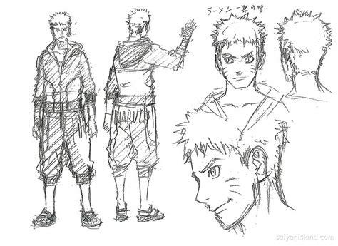 Naruto The Movie Sketches