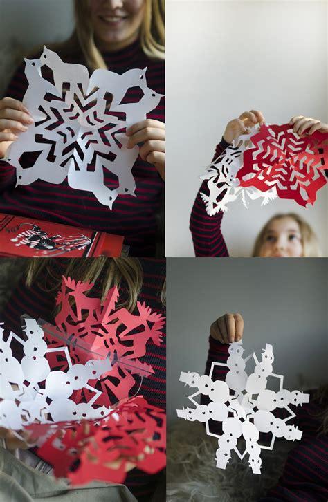 dala horse snowflakes moose snowflakes snowman