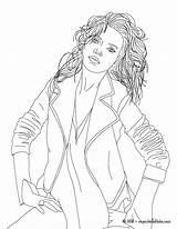 Coloriage Kate Moss Coloring Pages Imprimer Famous Hellokids Dessiner Dessin Print Colouring Colorier Livre Sheets Dessins Sheet Line Celebrities Adult sketch template