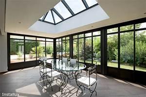 Puit De Lumière Toit Plat : extension de maison toit plat concr tisez votre projet ~ Premium-room.com Idées de Décoration
