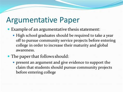 persuasive essay thesis statement examples writing a thesis statement high school