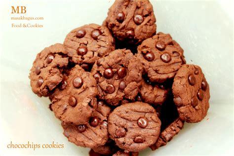 chocochips cookies masakbaguscom