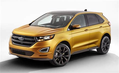 Ford's New 2015 Edge Comes With Ecoboost Standard