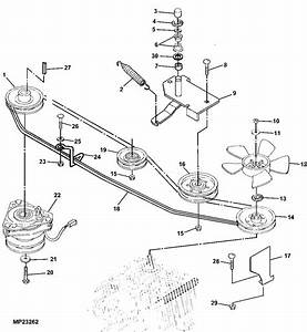 John Deere Lx277 Drive Belt Diagram